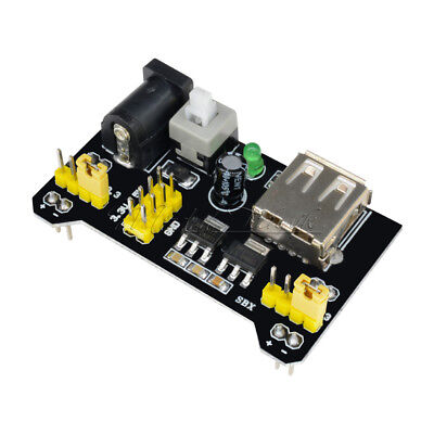 3.3V 5V Netzteil Adapter Power Supply Modul für MB102 Breadboard NEU For Arduino