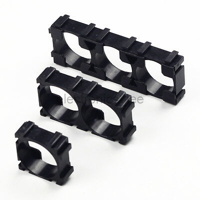 10/50/100/200pcs 18650 Lithium Battery ABS Holder Fixed Bracket Multi Connect