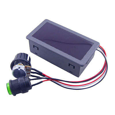 DC6-30V 12V 24V Max 8A Motor PWM Speed Controller With Digital Display Switch OP