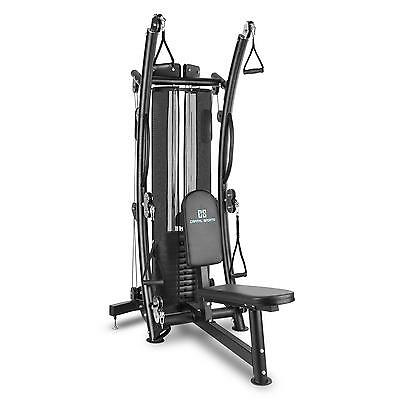 Cable Crossover Trainer Machine Multi Gym Home Excercise Steel 68 Kg * Free P&p*