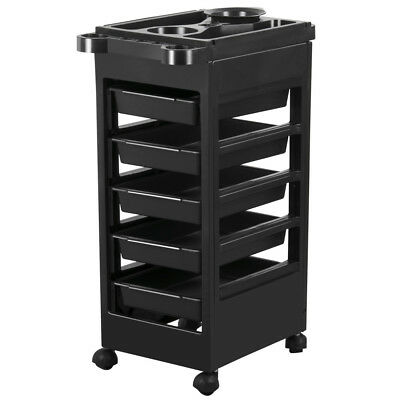 Multifunction 6 Tiers Hairdresser Salon Spa Hair Trolley Rolling Storage Cart