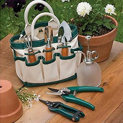 Indoor Gardening Tool Set With Mini-Tote - The Rumford Gardner - Brand New