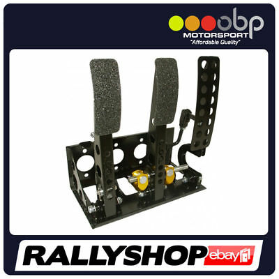 OBP Universal Floor Mount Bulkhead Fit Hyd Clutch Race Pedal Box Bronze Kit VIC4