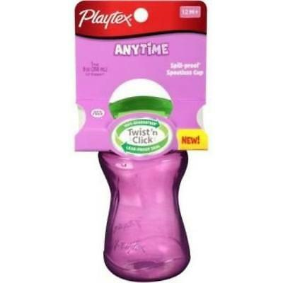 Playtex Lil Gripper Anytime Spoutless Cup Girl 9 New
