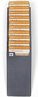 Upunch Hntcr10 Time Card Rack Durable New