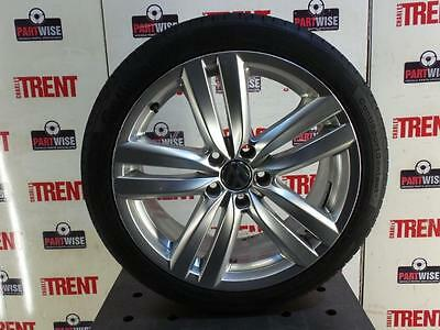 "2014 VW PASSAT B7 EOS 18"" Inch 5 Twin Spoke Kansas Alloy Wheel with Tyre 8JX18"