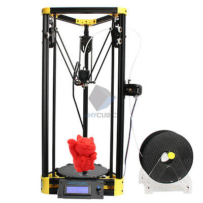 Anycubic upgrade Kossel 3D Printer Pulley Version Yellow DIY Large Printing Size