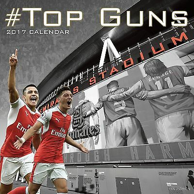 Top Guns, Arsenal FC Calendar 2017 with free pull out poster