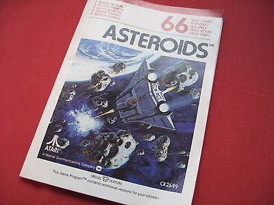 ASTEROIDS Atari - Atari 2600 - Manual Only