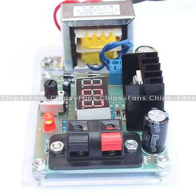 New Continuously Adjustable Regulated DC Power Supply DIY Kit LM317 1.25-12V EU