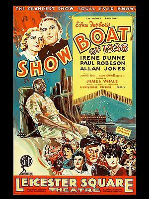 "Showboat of 1936 16"" x 12"" Reproduction Movie Poster Photograph"