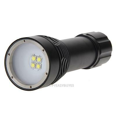 D34VR Diving Video Rechargeable 5000LM 100m Underwater Led Flashlight Torch Lamp