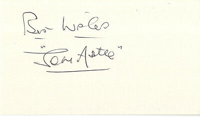 Jeff Astle - West Bromwich Albion F.C. & England Football Legend Signed Card.
