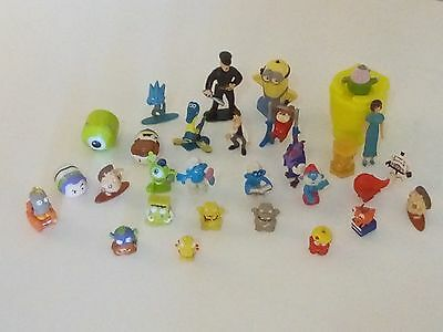 31pcs Miniature Dolls in one package,minions,disney,soldier &other.free shipping
