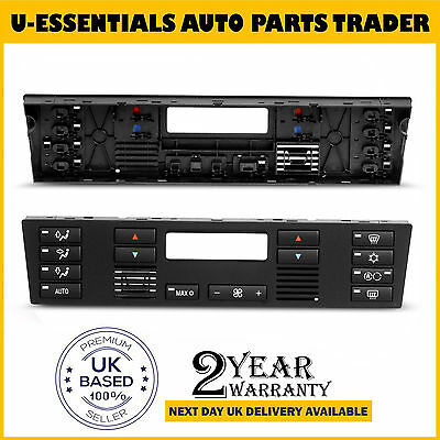 for BMW 5 SERIES E39 X5 E53 HEATER AIR CONDITIONING AC CONTROL SWITCH PANEL TRIM