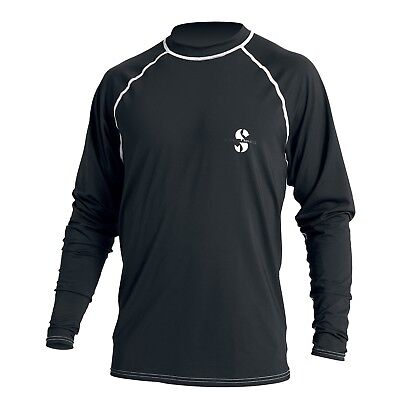 Scubapro Rash Guard Loose Fit Longsleeve UPF 50 schwarz