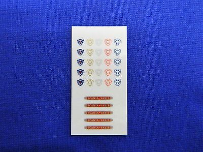 1:50 Scale Scania Vabis Sticker Set. * Brand New *