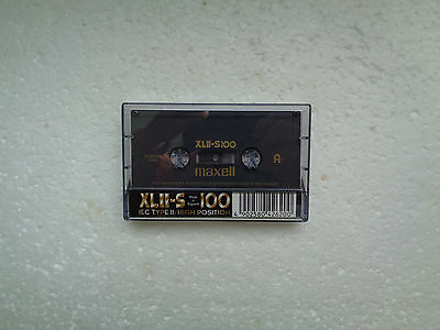 Vintage Audio Cassette MAXELL XLII-S 100 From 1998 - Fantastic Condition !!