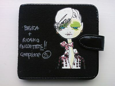 *NEW* | MOSCHINO Jeans | Womens/Girls Wallet | Black | *Stocking Filler*