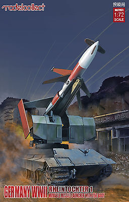 Preorder Modelcollect UA72031 1/72 Germany Rheintochter 1 movable Missile launch