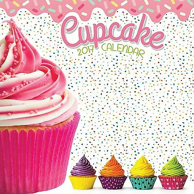 Cupcake premium Calendar 2017 with free pull out planner