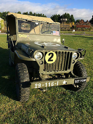 Willys Jeep Hotchkiss M201 1961 New Engine Fitted