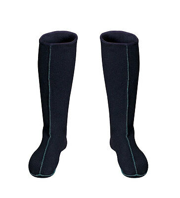 WARM LONG SOCKS FOR BOOTS Felt Size 3 - 15 UK WARMERS for rubber boots waders