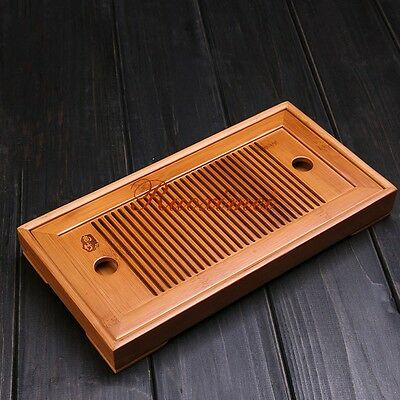 China Kung Fu Teaset Bamboo  Storage Type Small tea tray  Tea Accessories