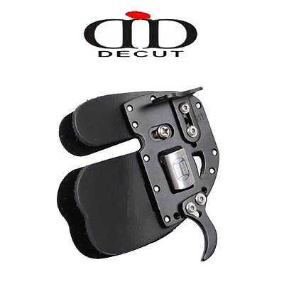 Decut RUGBII Leather Archery Finger Tab Colour Right Left Handed Protection
