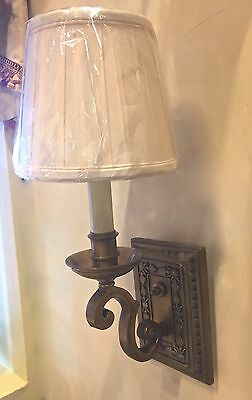 """One Traditional Style Hard Wired Wall Sconce, 6"""" Projection, One Avail"""