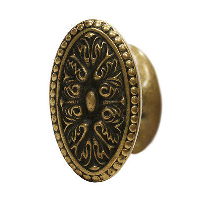 """Antique Cast Bronze """"Isigny"""" Door Knob Set by Yale & Towne, c.1910, NDK142"""