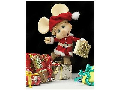 Flexible Fridge Magnet Photo Of A TOPO GIGIO CHRISTMAS