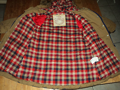 Superbe manteau grand froid OILILY  T6A