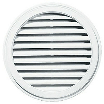 "22"" Round Paintable Gable Vent Gablemaster"