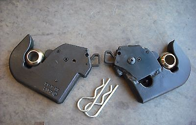 Lower tractor Hitch Hook CAT 2 (1 PAIR) inc Ball & Pin