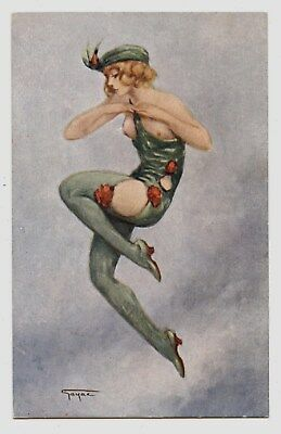 Gayac.femme Danseuse De Music-Hall.dancing Girl.ballerina.