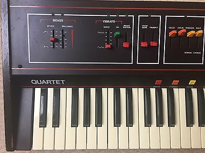 ARP QUARTET aka SIEL ORCHESTRA, VINTAGE ANALOGUE SYNTHESIZER / KEYBOARD