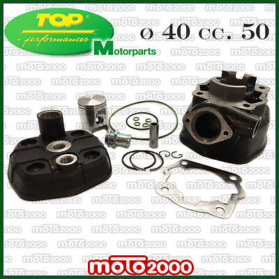 Kit Cilindro Gruppo Termico D 40 Top Performances Derbi Gpr Nude 50 2T 2004 2005