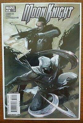 Moon Knight #27 (2009) 8.5 VF+ Gabriele Dell'Otto Punisher Moon Knight HTF
