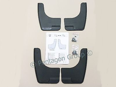 New Genuine Dacia Duster Sandero Front And Rear Mudguards Mudflaps 8201235609