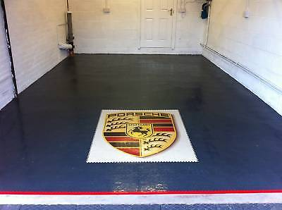 Rubber PVC Flooring heavy Interlocking garage Floor tile the cheapest on ebay!!