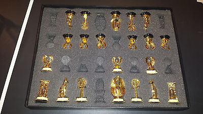 Pick 1 One Piece fr Franklin Mint King Tut Chess Set Egyptian Gold Coated Offer