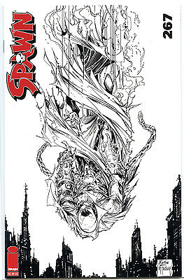 Spawn #267 Butler Sketch Cover Image Comics Bagged & Boarded