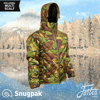 Fortis Snugpak SJ9 Insulated DPM Camoflague Jacket /Woodland camo fishing jacket