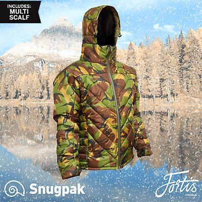 Fortis Snugpak SJ9 Insulated DPM Camoflague Jacket  + Free Merino Socks