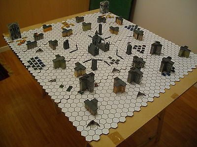 batiments de epic 40k (games worshop) + figurines