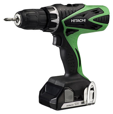 Hitachi DV 18 DSFL 18V Li-ion Cordless Drill 2 x 1.5Ah Batteries + Case NEW