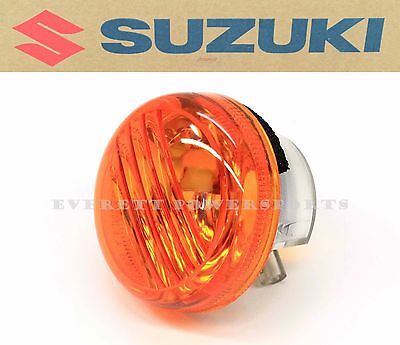 Suzuki Front Left Turn Signal Lens Boulevard Savage Intruder  (See Note) #K122