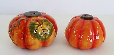 Bella Casa Orange Pumpkin Salt & Pepper Shakers by GANZ Thanksgiving Halloween