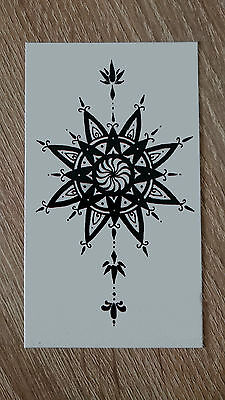 10x6cm Sheet-High-Quality-Fake-Tattoo-Henna-Waterproof-Temporary